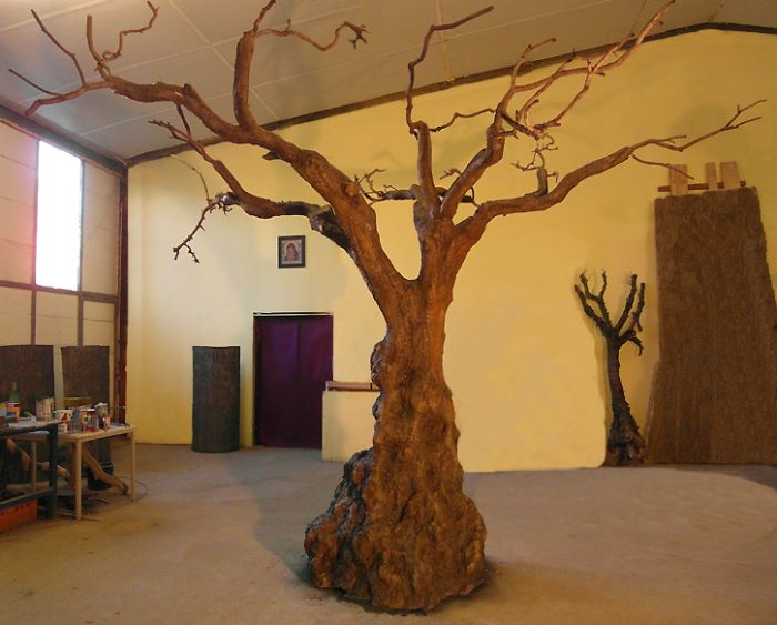 blattloser kunstbaum ohne dekoration hadjisky kunstb ume. Black Bedroom Furniture Sets. Home Design Ideas